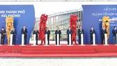 Thủ tướng Nguyễn Xuân Phúc tham dự lễ khởi công tổ hợp sản xuất ô tô - xe máy tại Hải Phòng