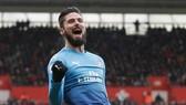 """Southampton - Arsenal 1- 1: """"Siêu dự bị"""" Giroud tỏa sáng"""