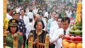 Dâng hương lễ hội truyền thống Anh hùng Nguyễn Trung Trực