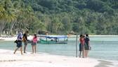 Bai Sao beach in Phu Quoc Island (Photo: VNA)