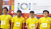 Vietnamese students participate in the 2017 International Olympiad in Informatics