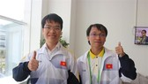 Le Quang Liem (L) and Nguyen Ngoc Truong Son (Photo: Huu Binh)