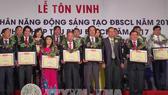 Honoring ceremony (Photo:VNA)