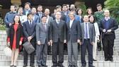 City leader meets overseas Vietnamese in Japan