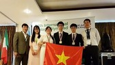 Vietnamese delegation in the 28th Int'l Biology Olympiad.