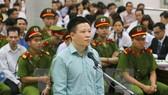 Former OceanBank Chairman Ha Van Tham in court (Source: VNA)