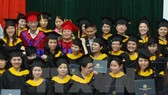 Graduates from University of Languages and International Studies under National University Hanoi at a graduation ceremony. (Source: VNA)