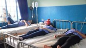 Workers are treated in the local hospital (photo: SGGP)