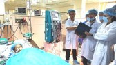 One of the patients in the dialysis incident  (Photo: SGGP)