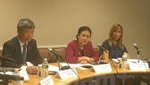 Vietnam's delegation at the event (Photo: VNA)
