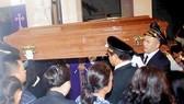 Coffin of Archbishop Paul Bui Van Doc arrives in HCMC
