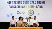 Zalo cooperates with Tien Giang Province in delivering e-administrative services