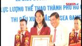 TPHCM khen thưởng vận động viên đạt thành tích cao tại kỳ SEA Games 29