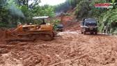 Quảng Ngãi: Quốc lộ 24C thông tuyến trở lại sau lũ