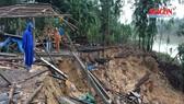 Sông Hương sạt lở nghiêm trọng