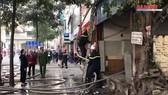 Hà Nội: Cháy cửa hàng phở lúc sáng sớm