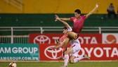 CLB Sài Gòn đang có hy vọng để hướng đến ngôi vô địch mùa này. (Ảnh: DŨNG PHƯƠNG)