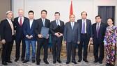 Trước sự chứng kiến của Thủ tướng Nguyễn Xuân Phúc, VNG và Nasdaq đã trao bản ghi nhớ về việc niêm yết của VNG