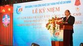 Thủ tướng Nguyễn Xuân Phúc phát biểu tại lễ kỷ niệm 15 năm SHTP