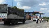 Trạm thu phí Sông Phan ở tỉnh Bình Thuận.