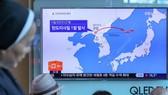 Tên lửa đạn đạo Triều Tiên rơi gần căn cứ Nga?