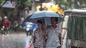Dứt nóng, Hà Nội đón mưa to