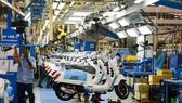 Vespa GTS thế hệ mới được lắp ráp tại nhà máy Piaggio VN ở Vĩnh Phúc.