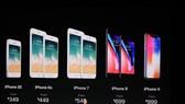 iPhone 8/8 Plus và iPhone X chính thức được ra mắt