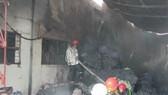 Cháy Khu công nghiệp Tân Thới Hiệp, công nhân bỏ chạy tán loạn