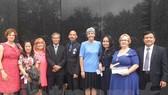 Các đại biểu tham dự buổi giao lưu
