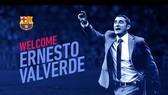 Ernesto Valverde chính thức dẫn dắt Barcelona