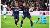 Vòng 3 - Ligue 1: Paris S.G. vùi dập Toulouse