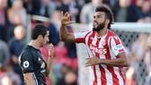''Người hùng'' Eric Maxim Choupo-Moting của Stoke City. Ảnh: REUTERS