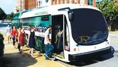 Xe buýt điện lập kỷ lục thế giới mới
