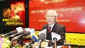 Lực lượng Công an nhân dân phải gương mẫu, trách nhiệm trước Đảng và nhân dân (*)