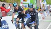 Bộ đôi Geraint Thomas và Mikel Landa được kỳ vọng sẽ làm nên chuyện ở Giro năm nay.
