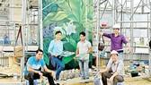 Tranh tường trang trí sân bay Đà Nẵng đoạt giải cuộc thi thiết kế quốc tế