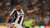 Gonzalo Higuain trong màu áo Juventus.