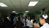 Bệnh viện quân y Phramongkutklao, ngay sau khi bị đánh bom. (Nguồn: The Nation/ANN)