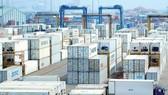 Hàng hóa tập kết tại Cảng Cát Lái, TPHCM