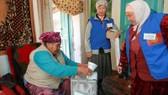Kyrgyzstan bầu cử tổng thống