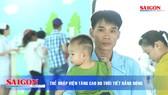 Trẻ nhập viện tăng do thời tiết nắng nóng