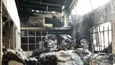 Cháy tại Công ty Sản xuất Bao bì quận 8