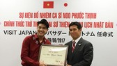 Noo Phuoc Thinh has been pointed as Japan's tourism ambassador