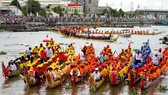 Long boat race is held annually in Kien Giang attracting more visitors-Photo: VNS