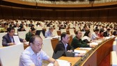 National Assembly deputies during a session-Photo: VNS