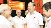 Hội nghị tiếp xúc cử tri ở TPHCM
