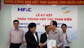 HFIC thỏa thuận hợp tác ứng dụng công nghệ thông tin với VIETTEL
