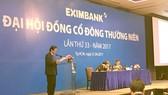 Eximbank chưa thoái vốn tại Sacombank