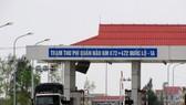 Đồng ý giảm phí xe qua trạm thu phí Quán Hàu và Tasco